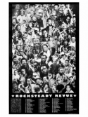 Rocksteady Revue Poster - Black & White (Maverick Photos) L 840 mm x W 520 mm